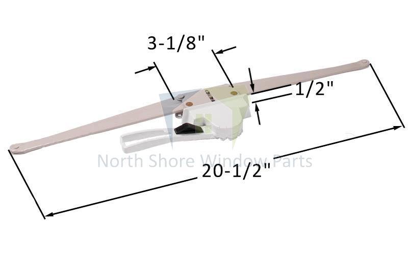 Lever Awning Window Operator 20 1 2 Regular Hand Truth