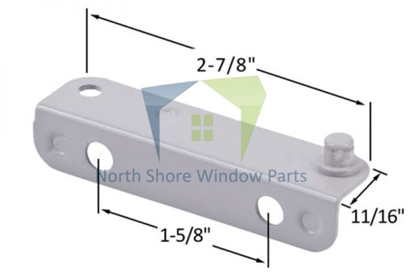 Stud Bracket (Truth Hardware 10339, 10340) (Right)