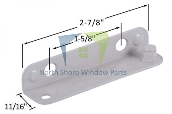 Stud Bracket (Truth Hardware 10402, 10403) (Left)