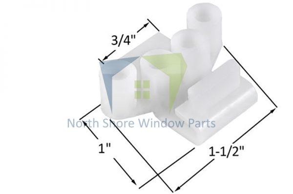 Tie Bar Guide (Adjustable) (Truth Hardware 45140)